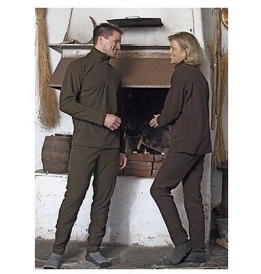 Fairwind Thermal Baselayer Set Including Zip-Neck Shirt And Trousers Mens