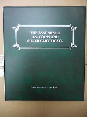 The Last Silver U.s. Coins And Silver Certificate Collection-90% & 40%