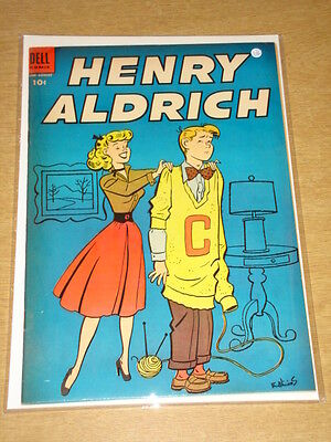 Henry Aldrich #21 Vf (8.0) Dell Comics August 1954