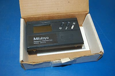 Mitutoyo Digimatic Protractor Model 950-313 (with manual)