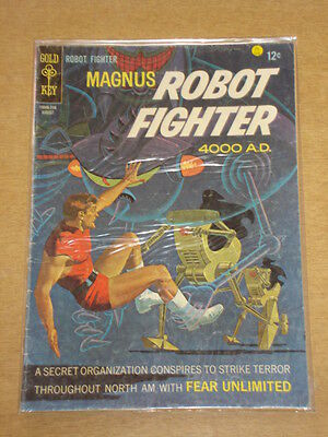 Magnus Robot Fighter #19 G/vg (3.0) Gold Key Comics August 1967