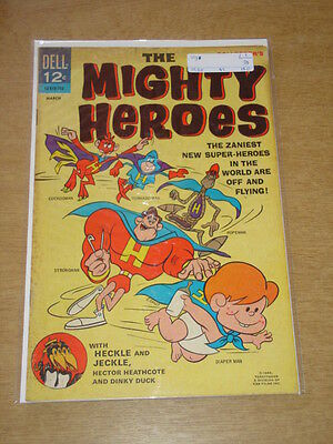 Mighty Heroes #1 Vg (4.0) Dell Comics March 1967