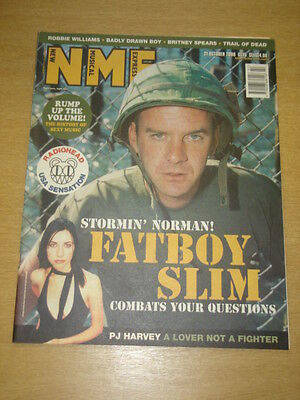 Nme 2000 Oct 21 Fatboy Slim Pj Harvey Badly Drawn Boy