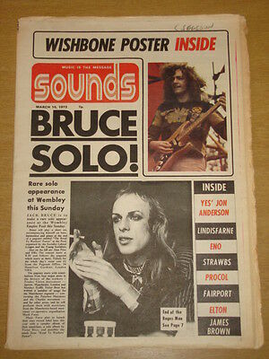 Sounds 1973 Mar 10 Jack Bruce Roxy Music Eno Strawbs <
