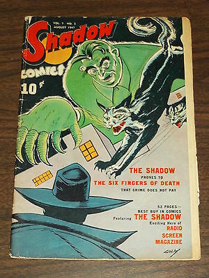 Shadow Comics Vol 7 #5 G (2.0) Street & Smith August 1947