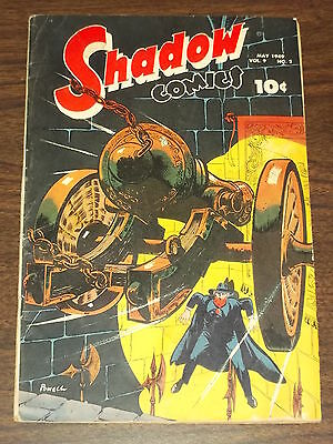 Shadow Comics Vol 9 #2 Vg (4.0) Street & Smith Powell May 1949