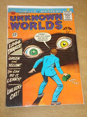 Unknown Worlds #31 Fn (6.0) American Comics Group May 1964