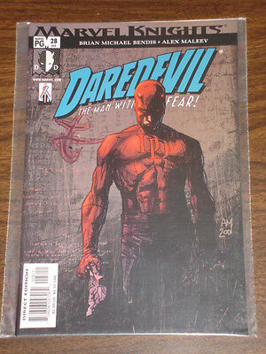 Daredevil Man Without Fear #28 Vol2 Marvel February 2002