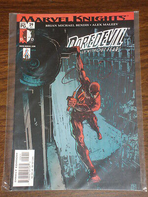 Daredevil Man Without Fear #29 Vol2 Marvel March 2002