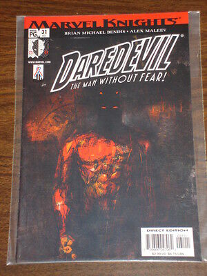 Daredevil Man Without Fear #31 Vol2 Marvel May 2002