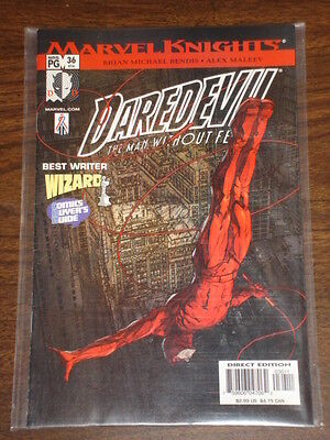 Daredevil Man Without Fear #36 Vol2 Marvel October 2002