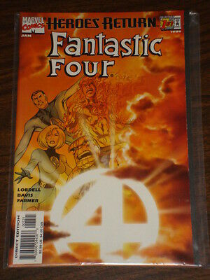 Fantastic Four #1 Vol3 Variant Marvel Comics January 1998