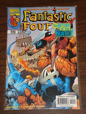 Fantastic Four #20 Vol3 Marvel Comics Ff Thing August 1999