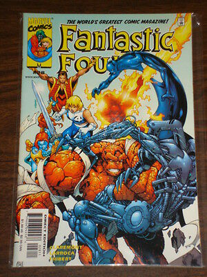 Fantastic Four #28 Vol3 Marvel Comics Ff Thing April 2000
