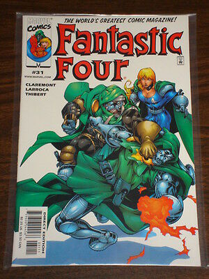 Fantastic Four #31 Vol3 Marvel Comics Ff Thing July 2000
