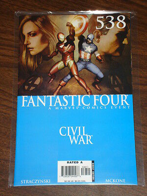 Fantastic Four #538 Vol1 Marvel Comics Civil War August 2006