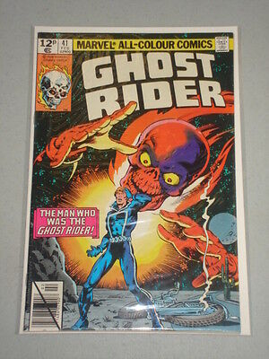 Ghost Rider #41 Vol 1 Marvel Comics February 1980