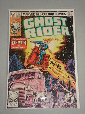Ghost Rider #42 Vol 1 Marvel Comics March 1980