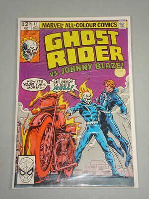 Ghost Rider #43 Vol 1 Marvel Comics April 1980