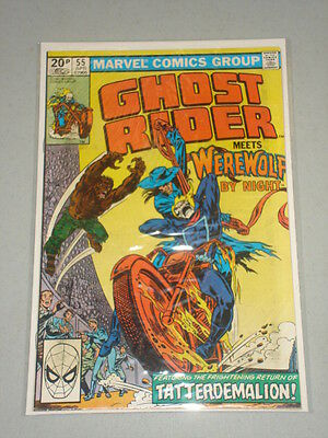 Ghost Rider #55 Vol 1 Marvel Werewolf By Night April 1981