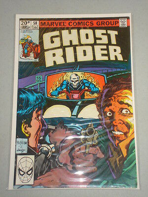Ghost Rider #58 Vol 1 Marvel Comics July 1981
