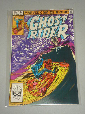 Ghost Rider #74 Vol 1 Marvel Dracula Apps November 1982