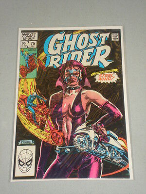 Ghost Rider #75 Vol 1 Marvel 1St App Steel Wind December 1982