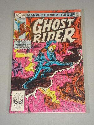 Ghost Rider #76 Vol 1 Marvel Comics January 1983