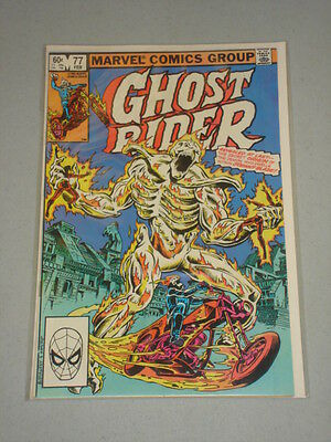 Ghost Rider #77 Vol 1 Origin Johnny Blazes Demon February 1983