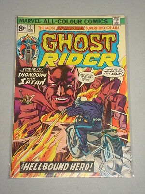 Ghost Rider #9 Vol 1 Marvel Jesus Christ Apps December 1974