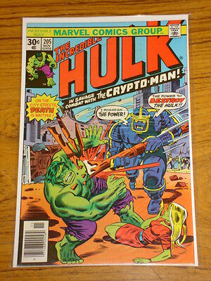 Incredible Hulk #205 Vol1 Marvel Comics November 1976