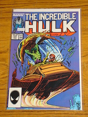 Incredible Hulk #331 Vol1 Marvel Comics Scarce May 1987