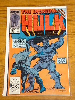 Incredible Hulk #363 Vol1 Marvel Comics December 1989