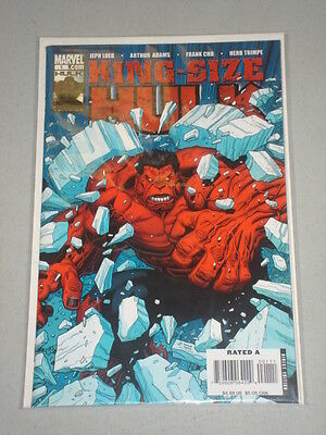 Incredible Hulk King Size #1 Vol 1 Arthur Adams July 2008
