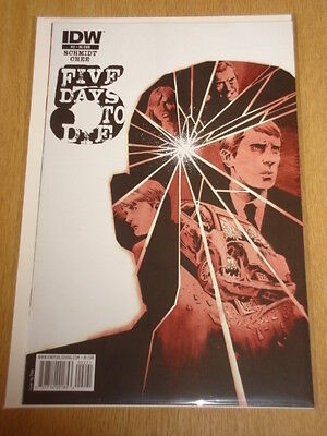Five Days To Die #2 Ri Cover Variant Idw