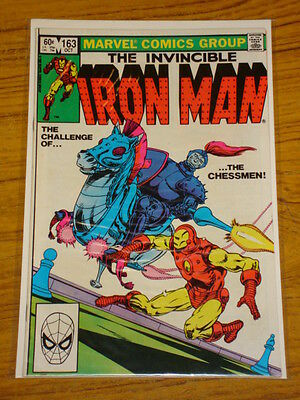 Ironman #163 Vol1 Marvel Comics October 1982