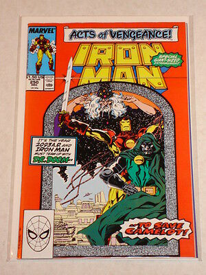 Ironman #250 Vol1 Marvel Ds Acts Of Vengeance Tie In December 1989