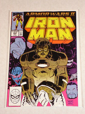 Ironman #262 Vol1 Marvel Armour Wars 2 Byrne Script November 1990