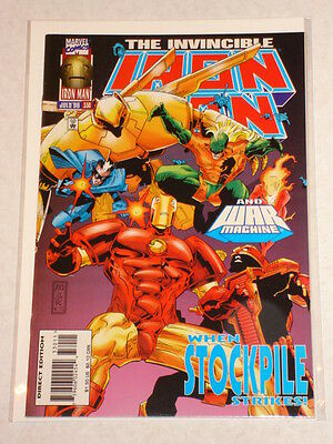 Ironman #330 Vol1 Marvel Comics July 1996