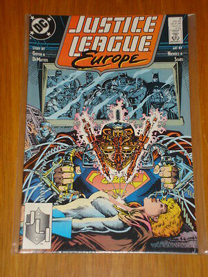 Justice League Europe #9 Vol 1 Dc Comic Jla December 1989