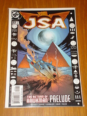 Justice Society Of America #22 Vol 1 Dc Comic Jsa May 2001
