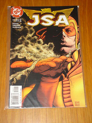 Justice Society Of America #64 Vol 1 Dc Comic Jsa October 2004