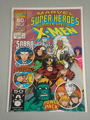 Marvel Super Heroes #6 Vol 2 Marvel 80 Pages July 1991