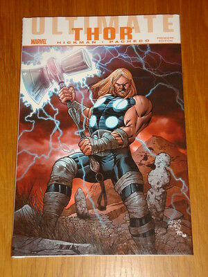 Thor Ultimate Comics Premiere Edition Marvel Jonathan Hickman Hb 9780785159223