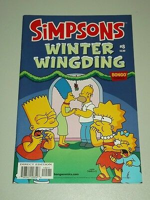 Simpsons Winter Wingding #8 Bongo Comics November 2013