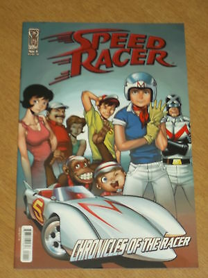 Speed Racer #1 Nm (9.4) Idw Ri Variant Cover 2007