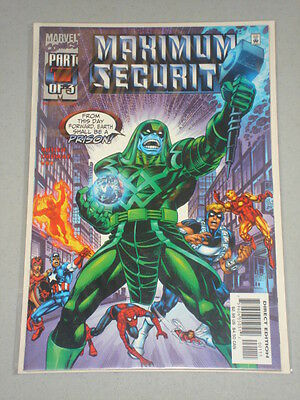 Maximum Security #1 Vol 1 Marvel Comics Scarce December 2000