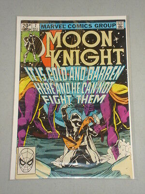 Moon Knight #7 Vol 1 Marvel Sienkiewicz Art May 1982