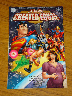 Justice League Of America Created Equal Jla Book 1 Dc Graphic Novel