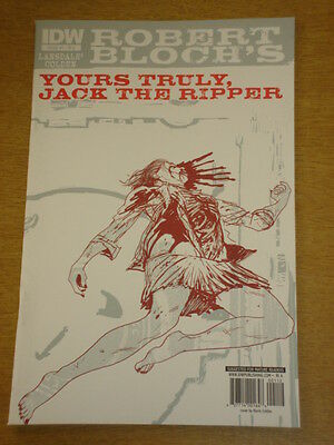 Yours Truly, Jack The Ripper #1 Ri A Cover 2010 Idw Kevin Colden